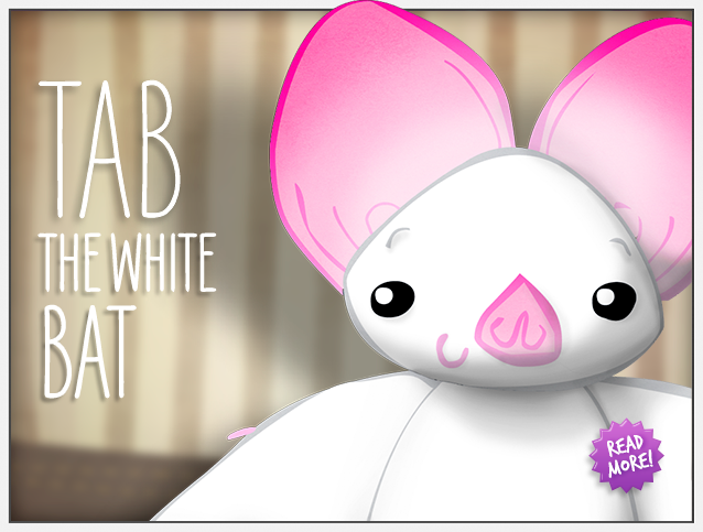 Tab the white bat