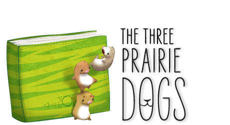 The three prairie dogs